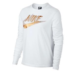 *NWT* Nike Long Sleeve Top White Size Small